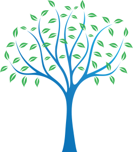 logo tree color